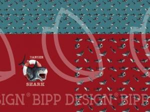 Paneel-Jersey White Shark