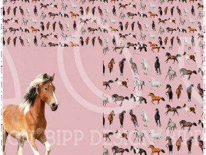 Paneel-Jersey Pferd