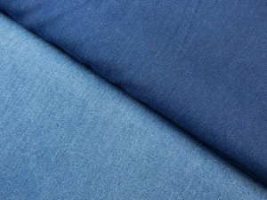 Baumwoll-Stretch-Jean uni