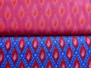 Baumwoll-Webstoffe Indian Feather