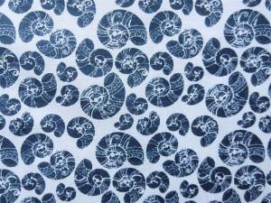 Baumwolle maritim dunkelblau