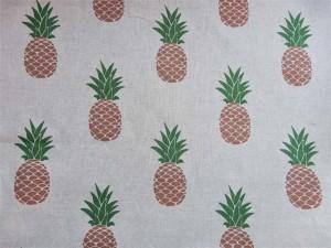 Dekorleinen Ananas