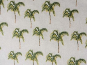 Dekorleinen Palmen