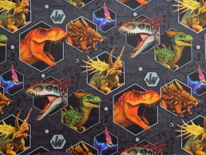 Dinosaurier Baumwoll-Jersey