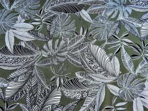 Viscose mit Blättern dunkelgrün