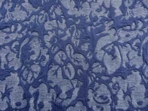 Jersey geblumt dunelblau