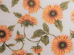 Dekorleinen Sonnenblumen