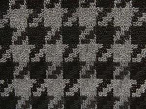 Hahnentritt schwarz grau