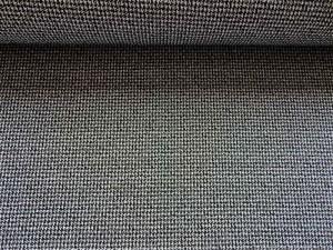 Stretch Minikaro schwarz grau
