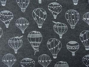 Baumwoll-Sweat Ballons dunkelgrau
