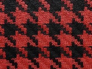 Hahnentritt rot schwarz