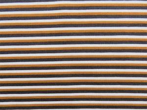 Baumwoll-Jersey-Serie Streiden ocker
