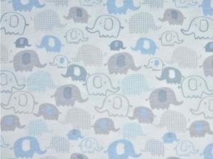 Interlock-Jersey Elefanten hellblau