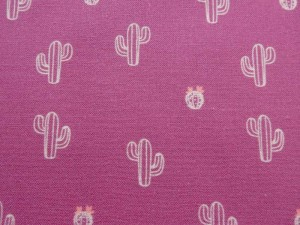 Baumwolle Kaktus pink