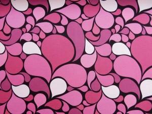 Baumwoll-Jersey pink