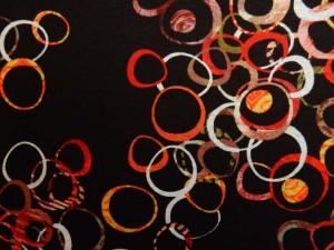 Punto-Jersey Ringe rot