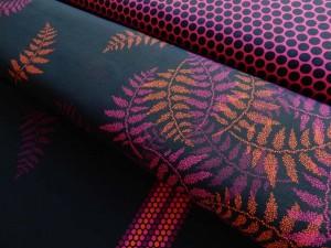 Sommersweat lycklig design pink