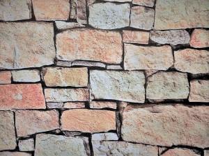 Dekorleinen Mauer