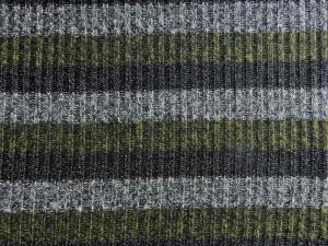 Strickstoff mit Lurex grün