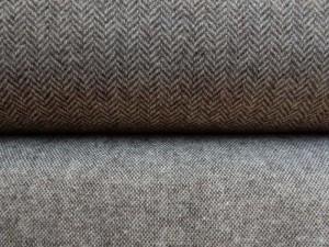 Woll-Tweed und Fischgrät