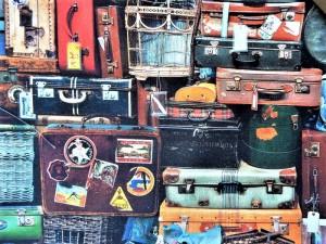 Dekorleinen Koffer
