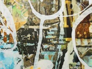 Viscose-Jersey abstrakt