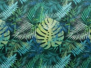 Dekor Baumwollstoff Dschungel