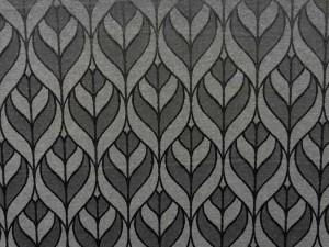 Dekor-Jaquard grau-schwarz