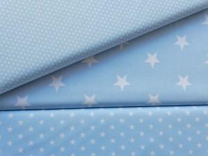 Baumwoll Serie hellblau