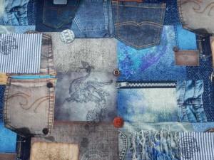 Dekorleinen Jeans