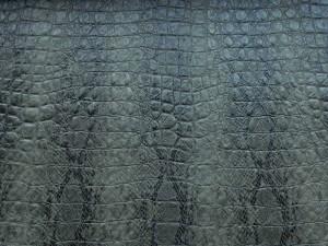 Schlangenleder-Imitat grün