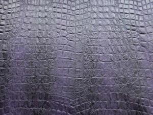 Schlangen-Lederimitat dunkelviolett