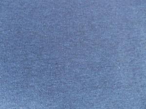 Baumwoll-Sweat meliert blau