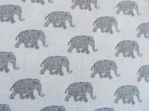 Leinen-Viscose Elefanten