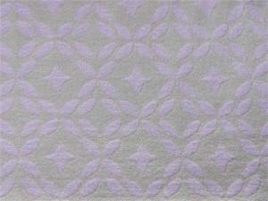 Jaquard-Jersey beige flieder