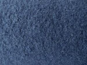 Schurwoll-Walkstoff jeansblau