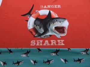 Paneel-Jersey White Shark rot