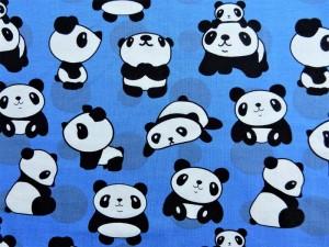 Baumwoll-Jersey Pandababy
