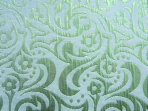 Lamé-Jaquard grün