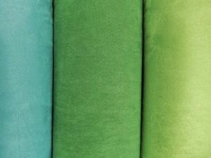 Rauleder-Imitate grün