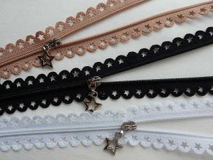 Sternchen-Zippe mit Dekoranhänger