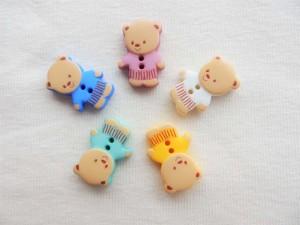 Kinderknöpfe Teddybär