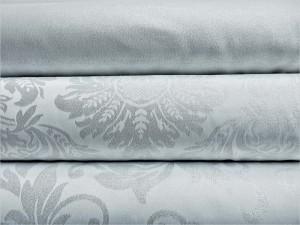 Jaquard Serie silber 100%Pl
